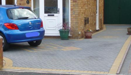 Block Paving Driveway with Border
