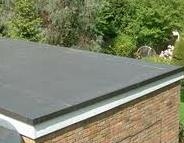 Roofing Work - Rubber EPDM Flat Roof