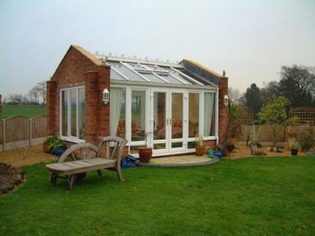 Gable Conservatories - Bespoke Stand Alone Gable Conservatory