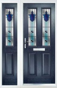 Just a Quote - Blue Composite Door and Side Panel