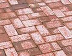 Advantages & Disadvantages of Block Paving - Efflorescence on Block Paving Driveway