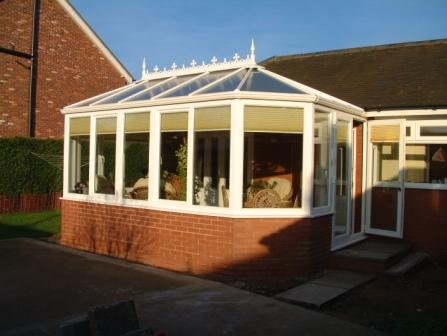 Victorian Conservatories - Gullwing conservatory
