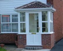 Porches - Hipped Tiled Roof Porch