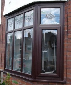 uPVC Bay Windows - Rosewood PVCu bay window