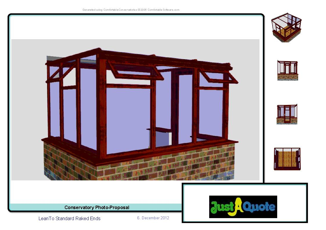 Sun Lounge Conservatories - CAD Image