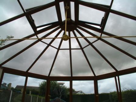 Conservatory Glazing - Solar Control Glass in a Conservatory Roof