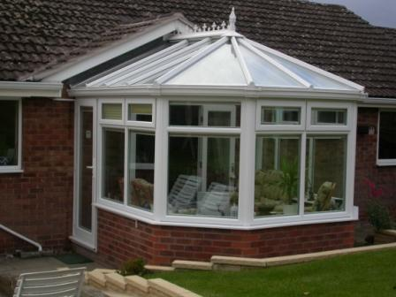 Victorian Conservatories - Three Facet Victorian Conservatory on a Bungalow, Dormer Version