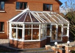 Combination Conservatories - Victorian P Shape Conservatory, Finished Conservatory