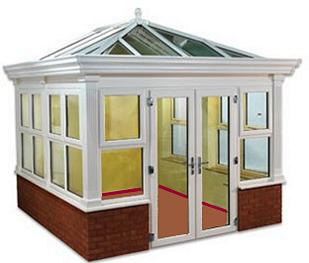 Orangery Style Conservatories - Synseal Global Summer Orangery Style Conservatory