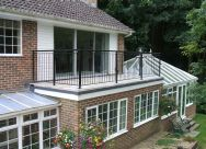 Roofing Work - Flat Roof Forming a Balcony
