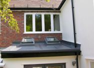 Roofing Work - Flat Roof on a Domestic Extension