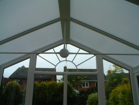 Ten Things to Consider about Conservatories - Opal Polycarbonate in a White uPVC Gable Conservatory