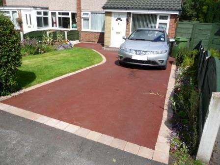 Practical matters when laying a driveway