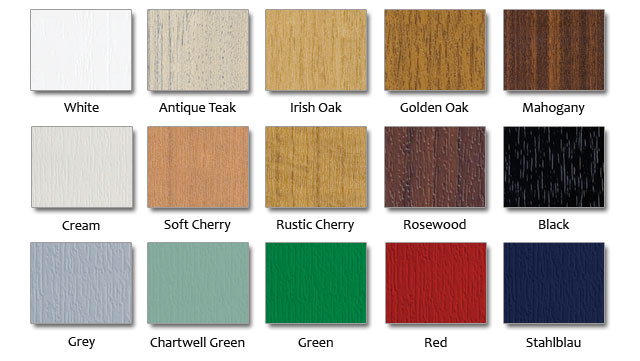 Roofline Products - uPVC Cladding Colours