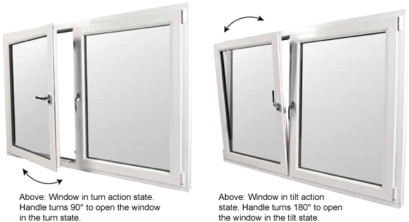 PVCu Tilt & Turn Windows